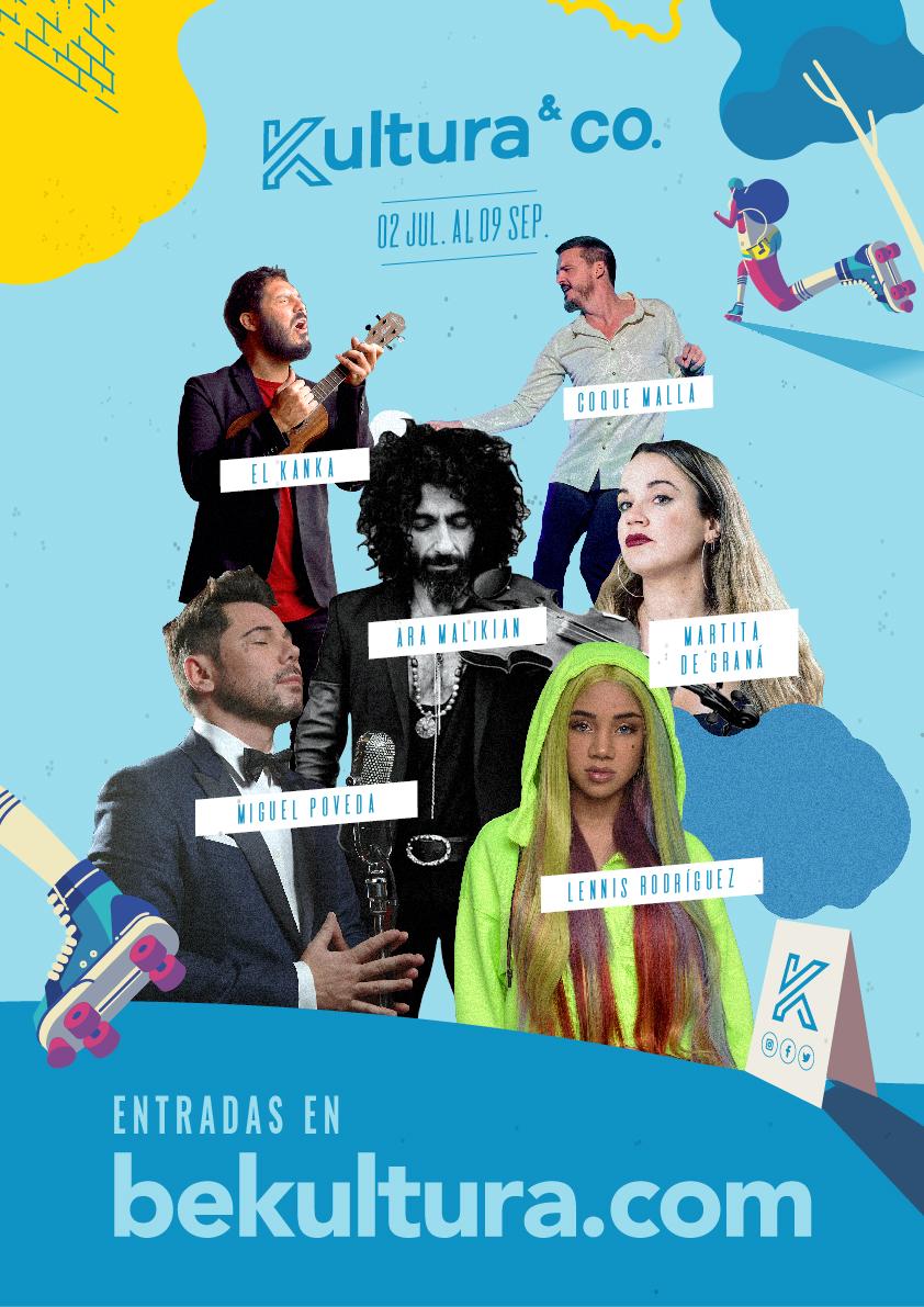 Kultura&Co Artistas 2JUL-9SEP