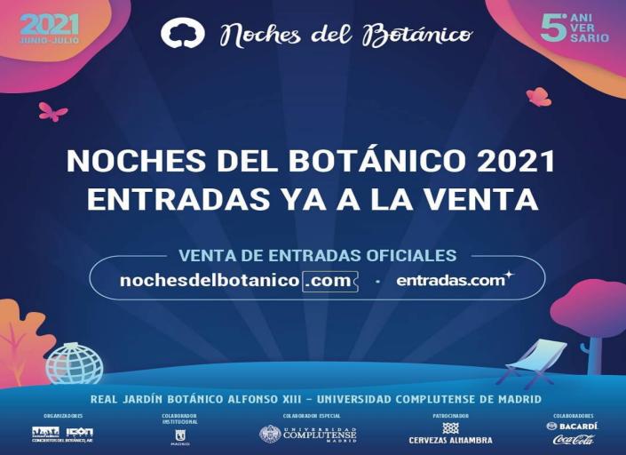 Noches del Botánico 2021 Proyectos