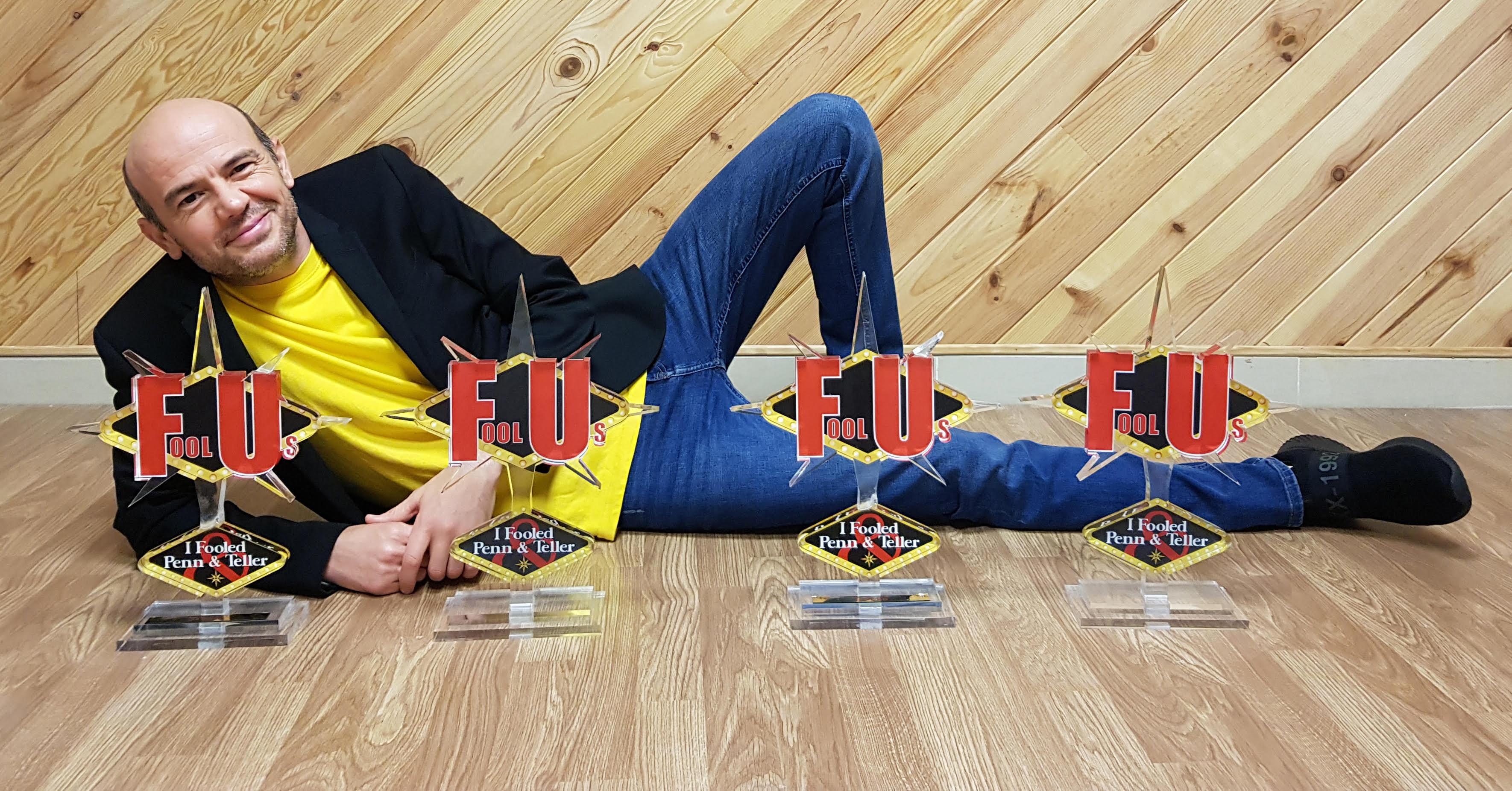 El mago Jandro gana por cuarta vez el Trofeo «Fool Us» en Las Vegas