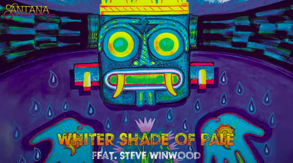 El legendario guitarrista Carlos Santana lanza «Whiter Shade of Pale» con Steve Winwood